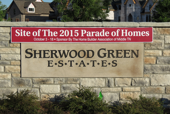 Sherwood Green Estates Is A New Community In Nolensville TN It The Location Of 2015 Parade Homes Amenities Include Small Parks Natural Areas